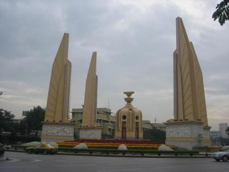Thailand's Democracy Monument, 02 December 2005