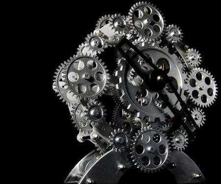 Cog Clock by Balakov